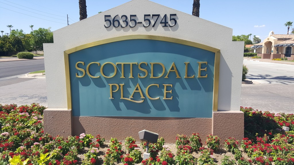 Scottsdale sign on road to get to office-4